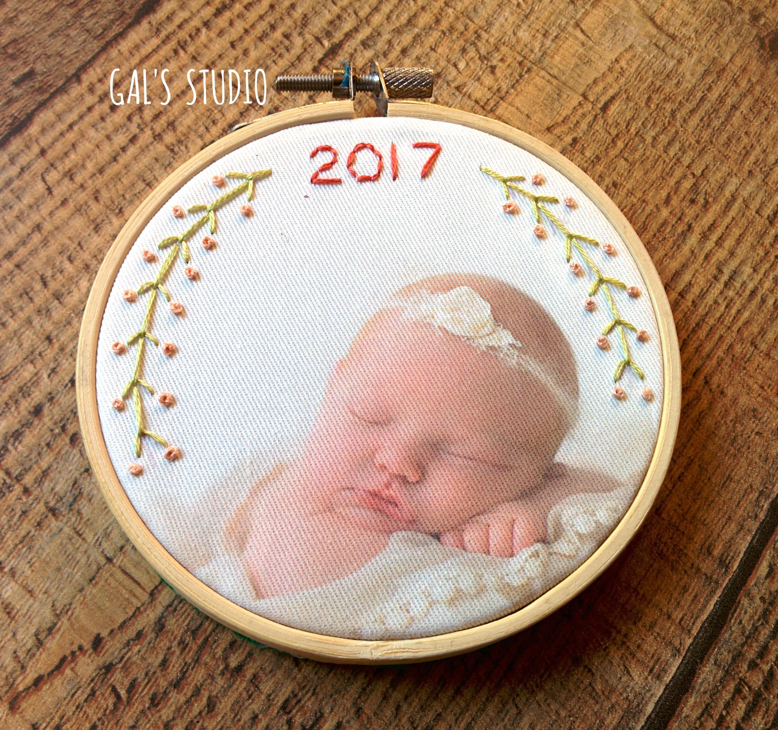 newborn ornament