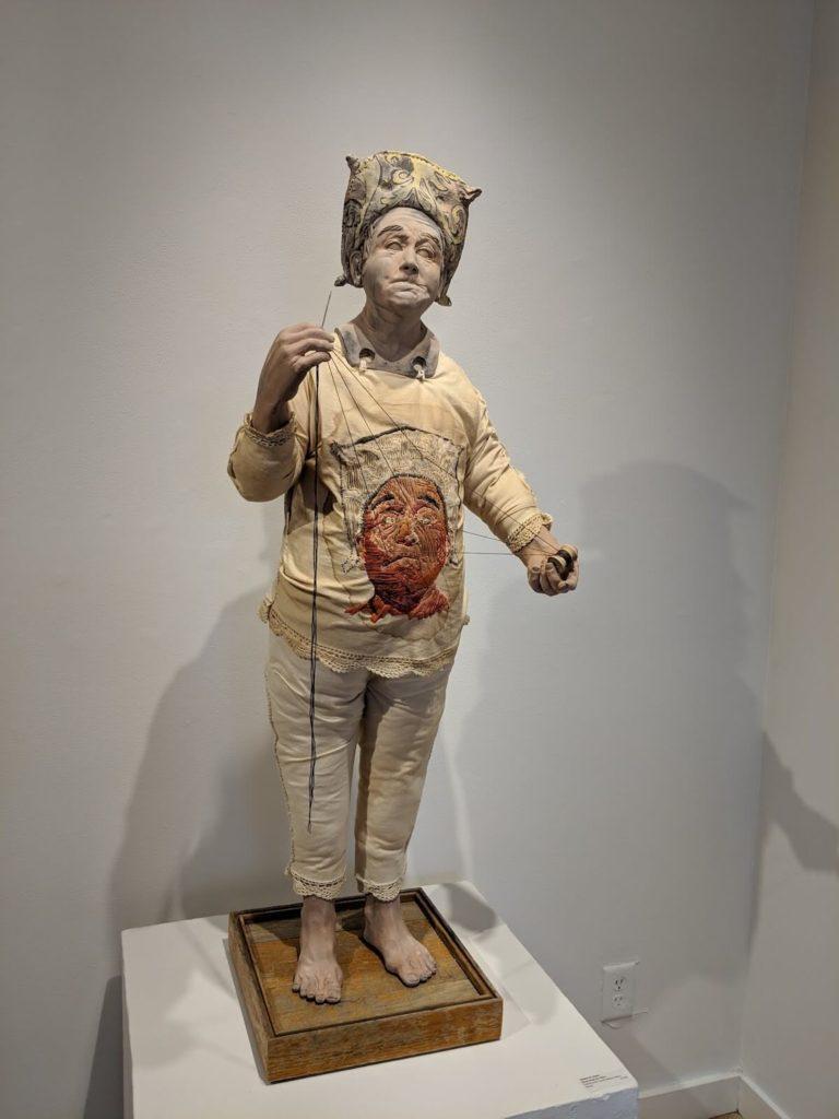 תמונת פסל איש רוקם של Richard James