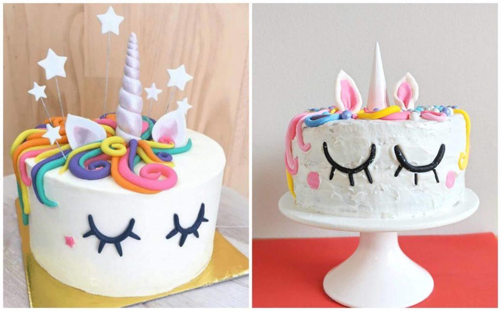 השוואה בין עוגות חדי קרן